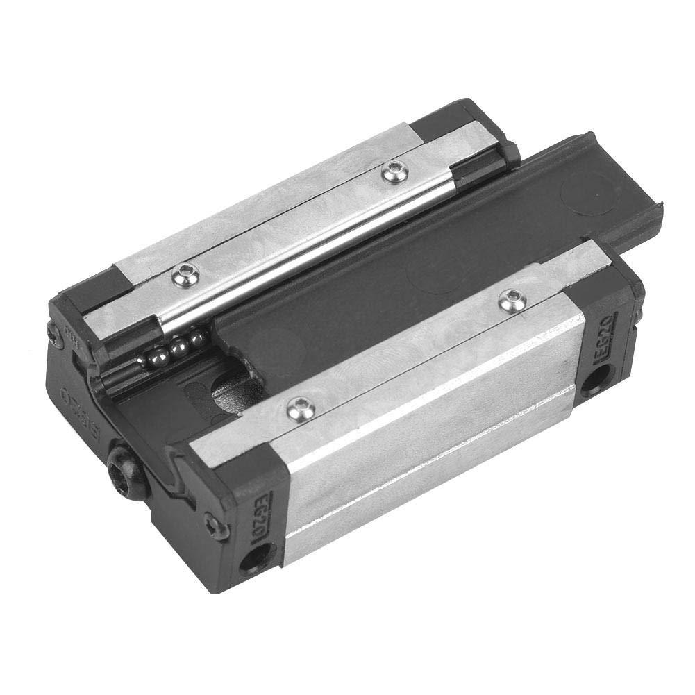 Delaman Mini guide de mouvement lin/éaire Rail Block Slider Bearing Steel Sliding Blocks EGH20CA 1PC Bloc de rail