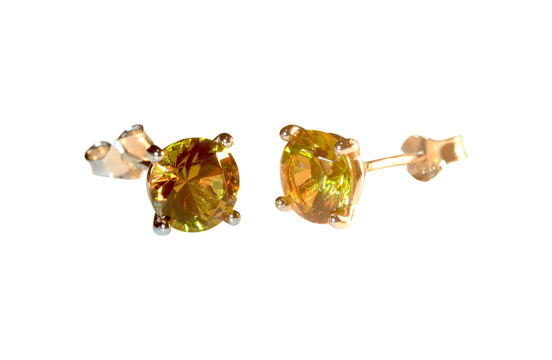 Stud Earrings Alexandrite Earrings Color Changing Gem Stud Earrings Fine Jewelry Sterling Silver Stud Earrings Silver Earrings