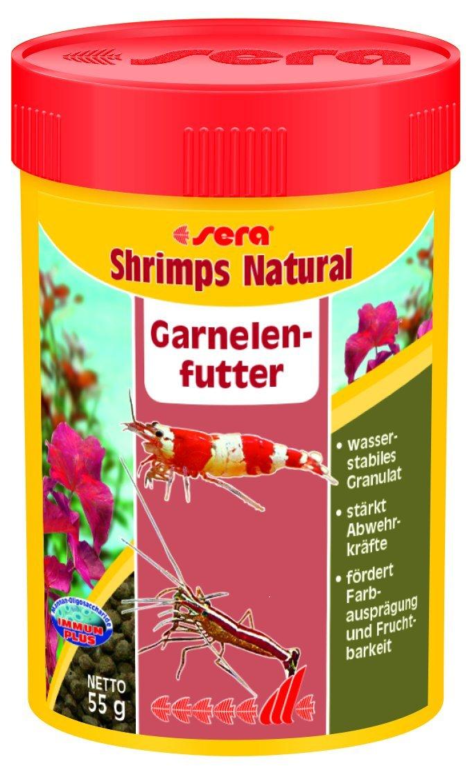 sera 00554 shrimps natural 100 ml - Speziell für die Bedürfnisse von Garnelen entwickelt Aquarien Aquaristik Fische Fischfutter