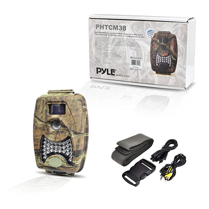 Pyle PHTCM38 - Cámara exploradora impermeable con visión nocturna graba videos: Amazon.es: Electrónica