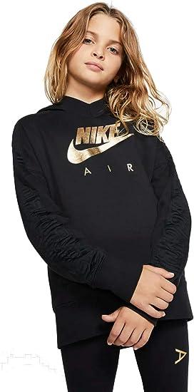 Nike G NSW Air Po Gx Sudadera con Capucha Ni/ñas