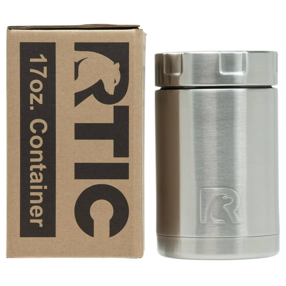 RTIC Double Wall Vacuum Insulated Food Container (Stainless Steel, 17oz) by RTIC (Image #3)