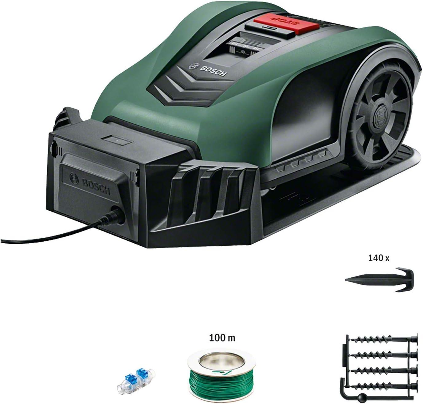 Connect Bosch Indego S+ 350 Lames de Rechange pour Les Tondeuses Robots Titane 18 pi/èces