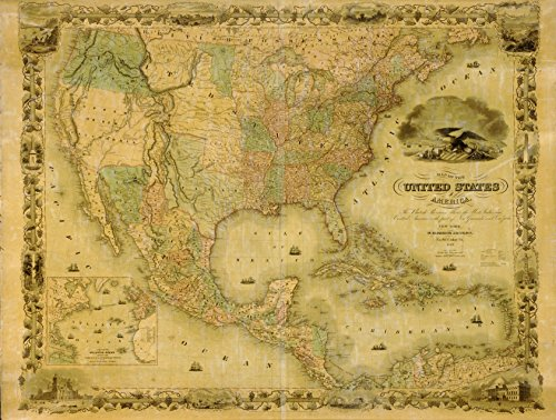 old america map - 1