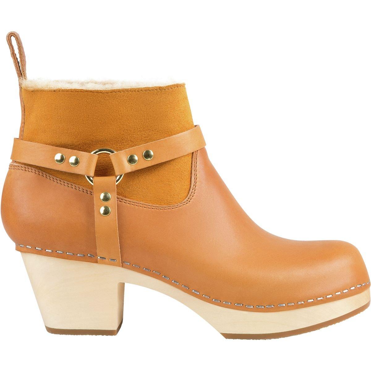 swedish hasbeens Women's Rivet Ankle Boot B06VVYD6DL 39 Regular EU (9 US)|Nature