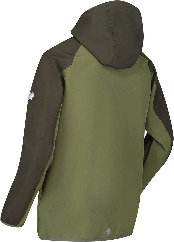 Regatta Herren Arec II Extol Stretch Wasserabweisend Softshell Jacke Softshell