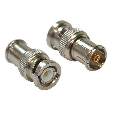 Clavija BNC a cable coaxial hembra adaptador de enchufe de TV PAL/A, uso