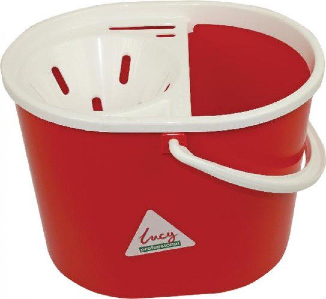 Lucy L1405292 Mop Bucket, 15 L, Red SYR SYR03232