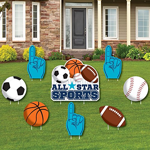 Go, Fight, Win - Sports - Yard Sign & Outdoor Lawn Decorations...