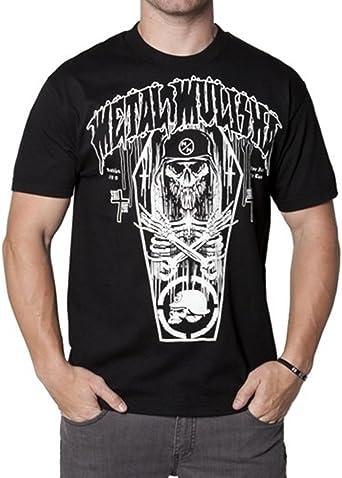 Ataúd metal Mulisha camiseta: Amazon.es: Ropa y accesorios