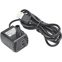 ATPWONZ Mini USB Pump 200L/H Submersible Water Pumping for Aquarium Fish Fountain Garden House Water Hydroponic DC 3.5…