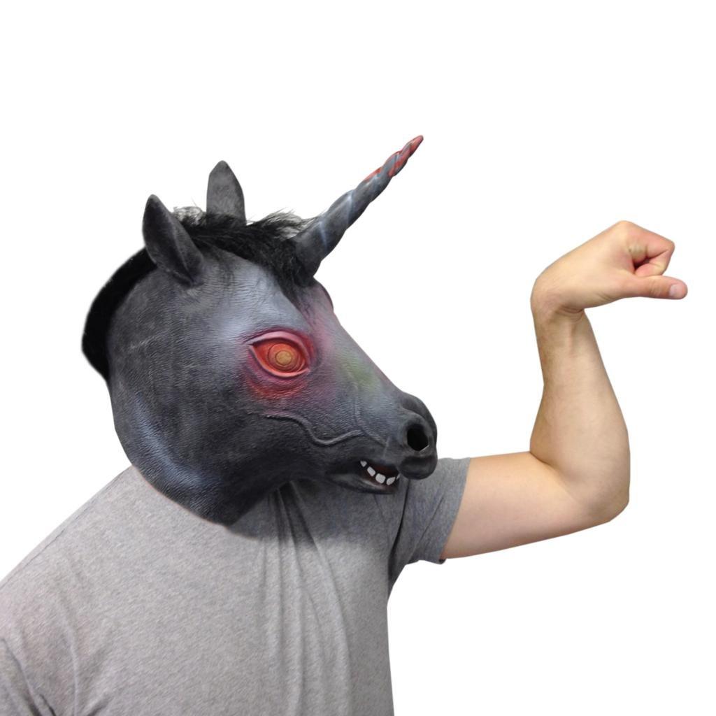 Amazon.com: Evil Unicorn Mask (The Original) - Off the Wall Toys ...