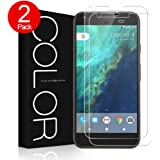 Google Pixel XL Screen Protector, G-Color Scratch Resistance Tempered Glass Screen Protector for Google Pixel XL(2 Pack)