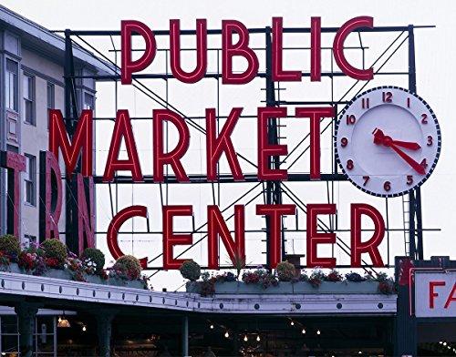 Seattle, WA Photo - Pike Place Market sign (