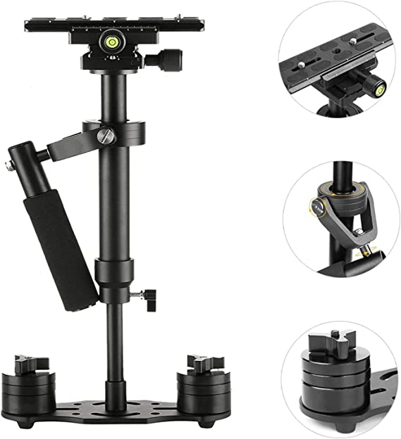 SUTEFOTO S40 Handheld Stabilizer Steadicam Pro Version for Camera Video DV DSLR Nikon Canon