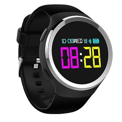 ZYXCC Hommes et Femmes Bluetooth 30 Mètres Imperméable à l'eau Surveillance de la Fréquence Cardiaque Smart Bracelet