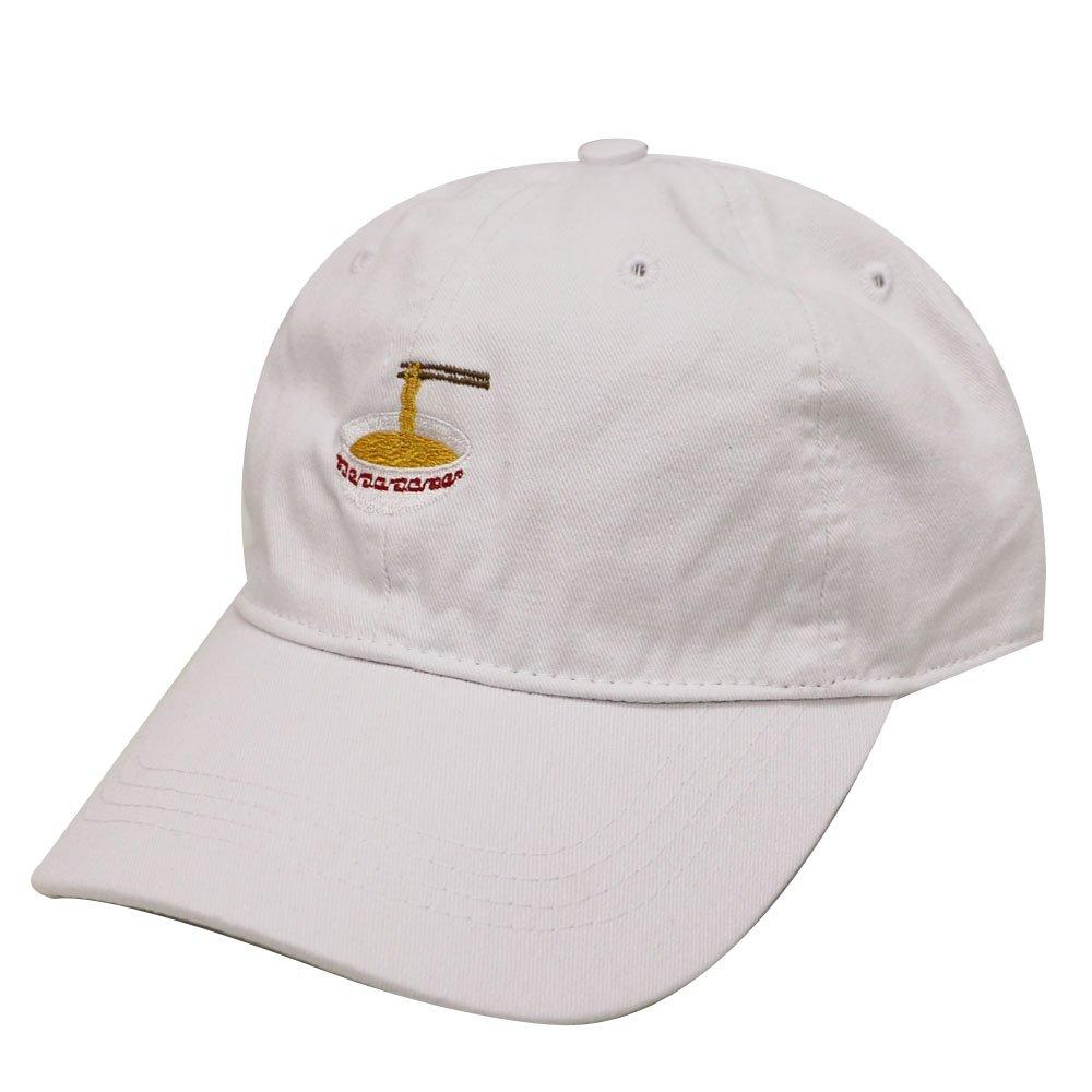 City Hunter C104 Noodles Cotton Baseball Dad Caps 17 Colors (White)