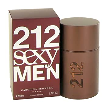 ab57a96a7 212 Sexy by Carolina Herrera for Men - Eau de Toilette, 50ml: Amazon ...
