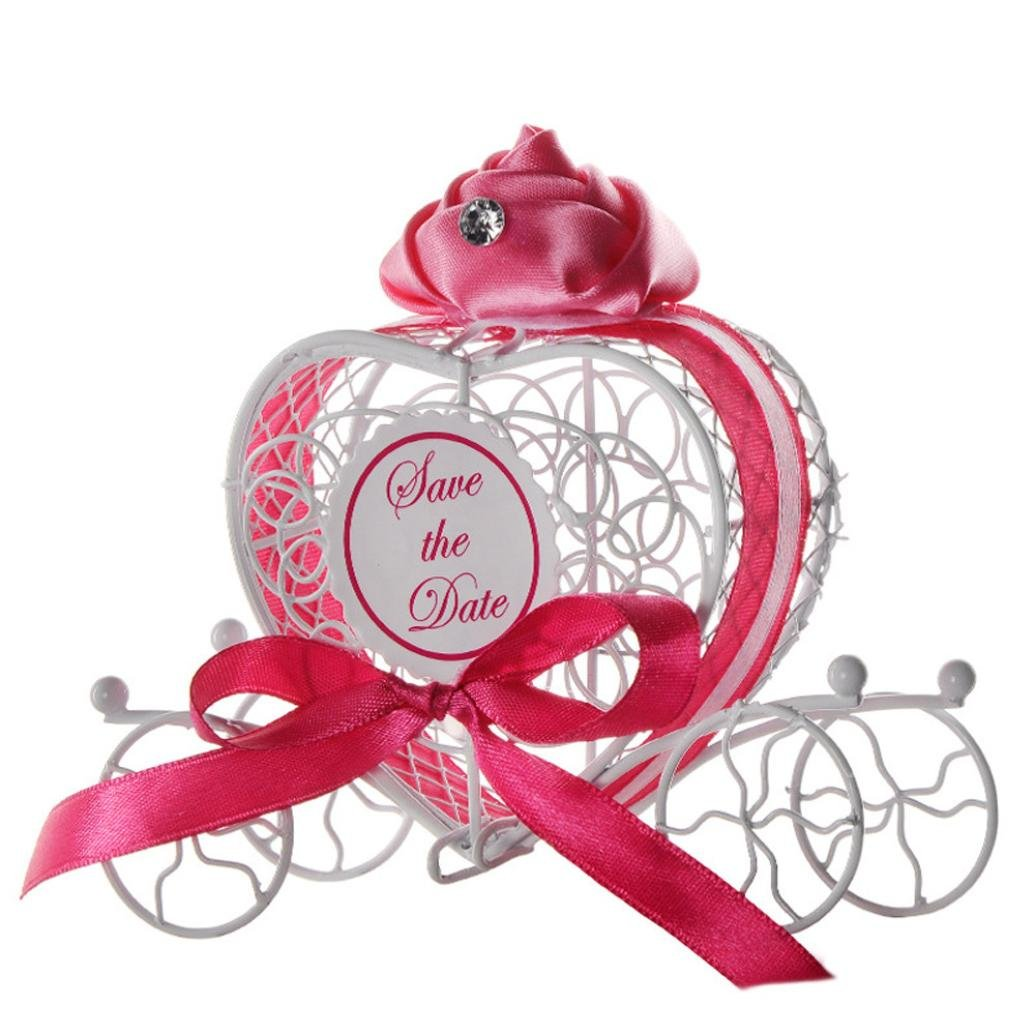 Amazon.com: Transer Metal Candy Box Party Wedding Favors Boxes ...
