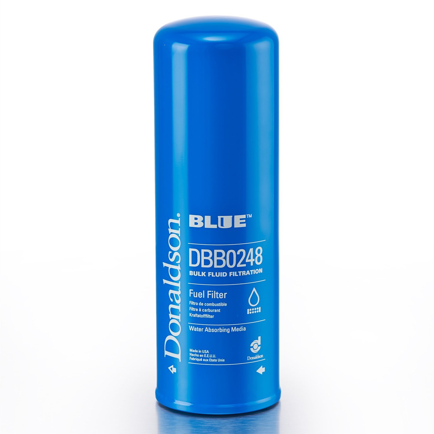 Donaldson DBB0248 Clean Solutions Filter (Spin-on, Donaldson Blue)