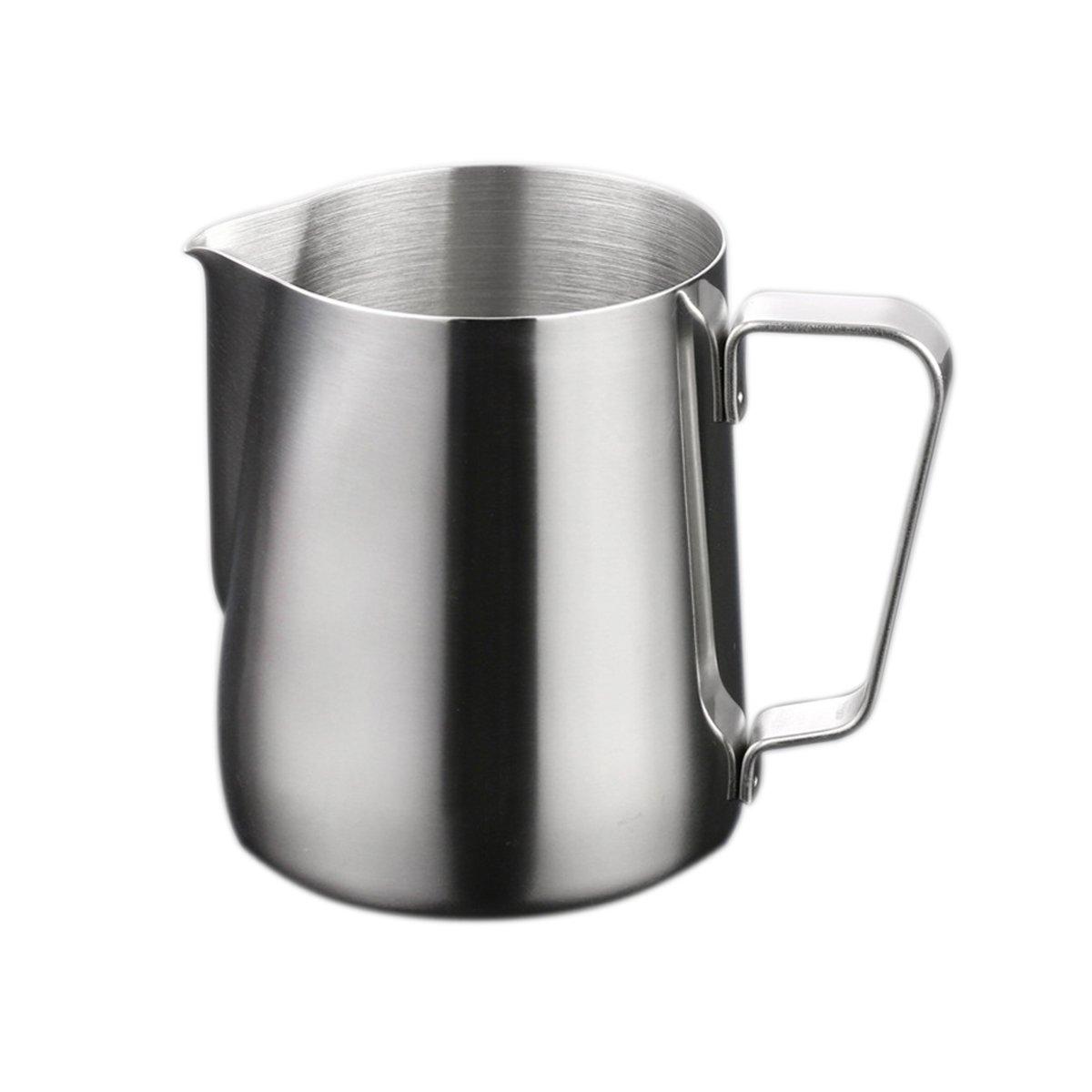 BESTONZON 150ml Stainless Steel Milk Frothing Jug Latte Pourer Cappuccino Coffee Jug