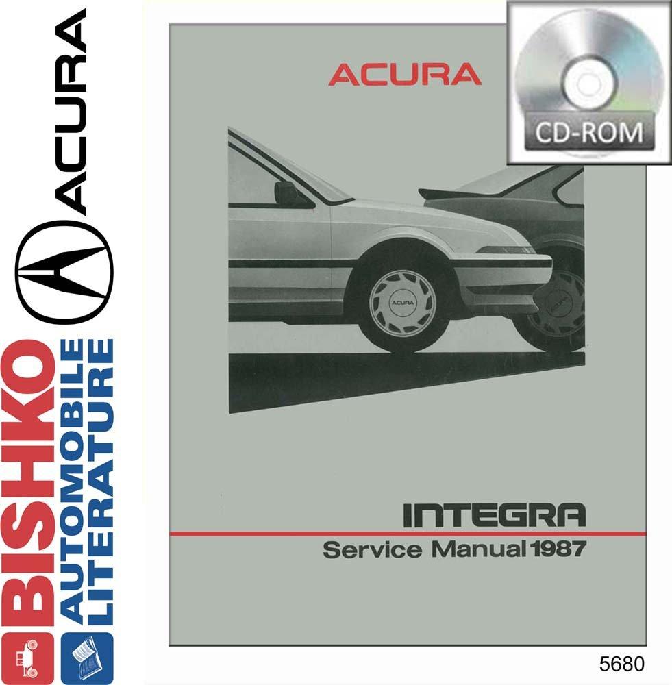 Amazon.com: bishko automotive literature 1987 Acura Integra Shop Service  Repair Manual CD Engine Drivetrain Wiring OEM: Automotive