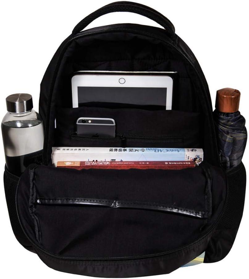 MAPOLO Christmas Tree and House Fireworks School Backpack Travel Bag Rucksack College Bookbag Travel Laptop Bag Daypack Bag for Men Women
