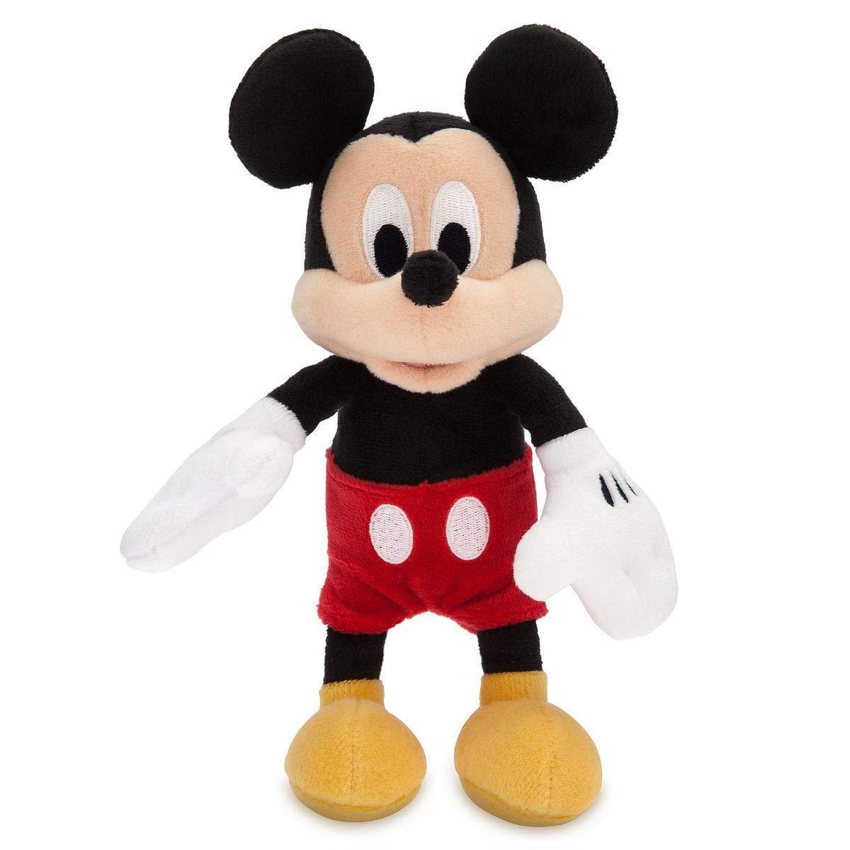 Disney Mickey Mouse e Minnie Mouse Peluche Pequeño Set 20cm: Amazon ...