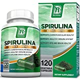 BRI Nutrition Spirulina – Maximum Strength Spirulina Powder Capsules, Packed w/Antioxidants, Protein & Vitamins – 2000mg, 120 Vegetable Capsules Review
