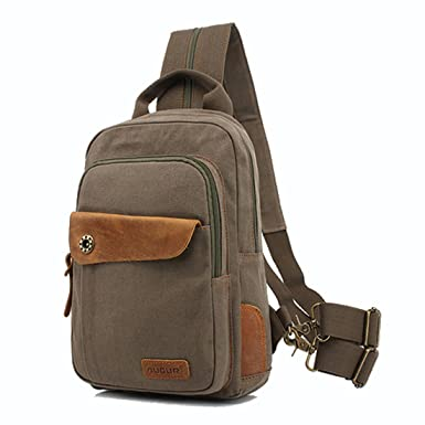 Amazon.com | CLELO Mini Backpack Purse, Canvas Sling Rucksack ...