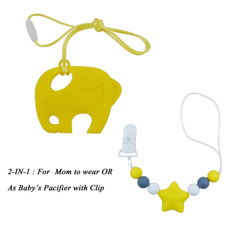 INCHANT para niños juguetes para la dentición Con Chupete ...