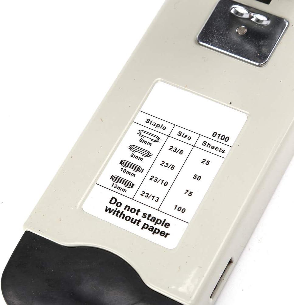 Adjustable 120 sheets Capacity, Hand-held Metal Labor-saving Stapler Pliers Heavy Duty Stapler