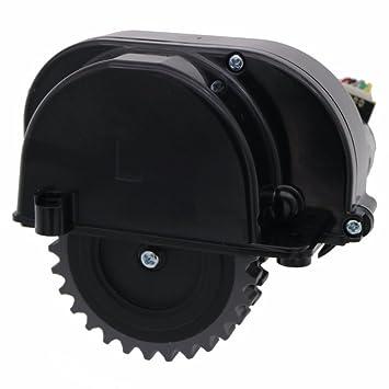 Louu Robot Aspirador Accesorios Piezas para Ilife V3 + V3 X 5 V5 V5s Ruedas Robot Aspirador Motores (Rueda Izquierda): Amazon.es: Hogar