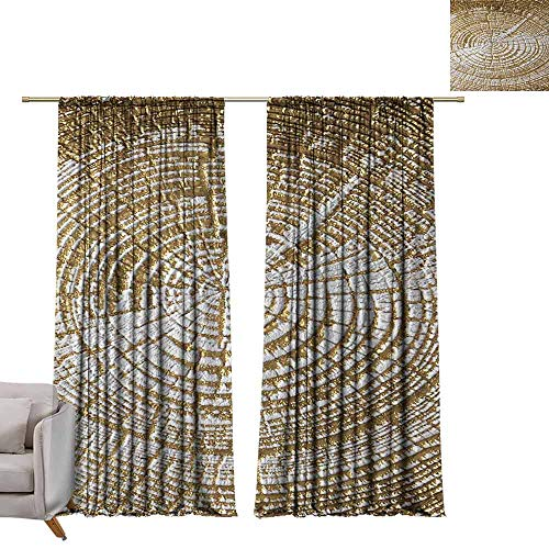 (berrly Tie Up Shades Rod Blackout Curtains Shot of Art Deco Tiles Mosaic for use as a Background W72 x L96 Adjustable Tie Up Shade Rod Pocket Curtain)