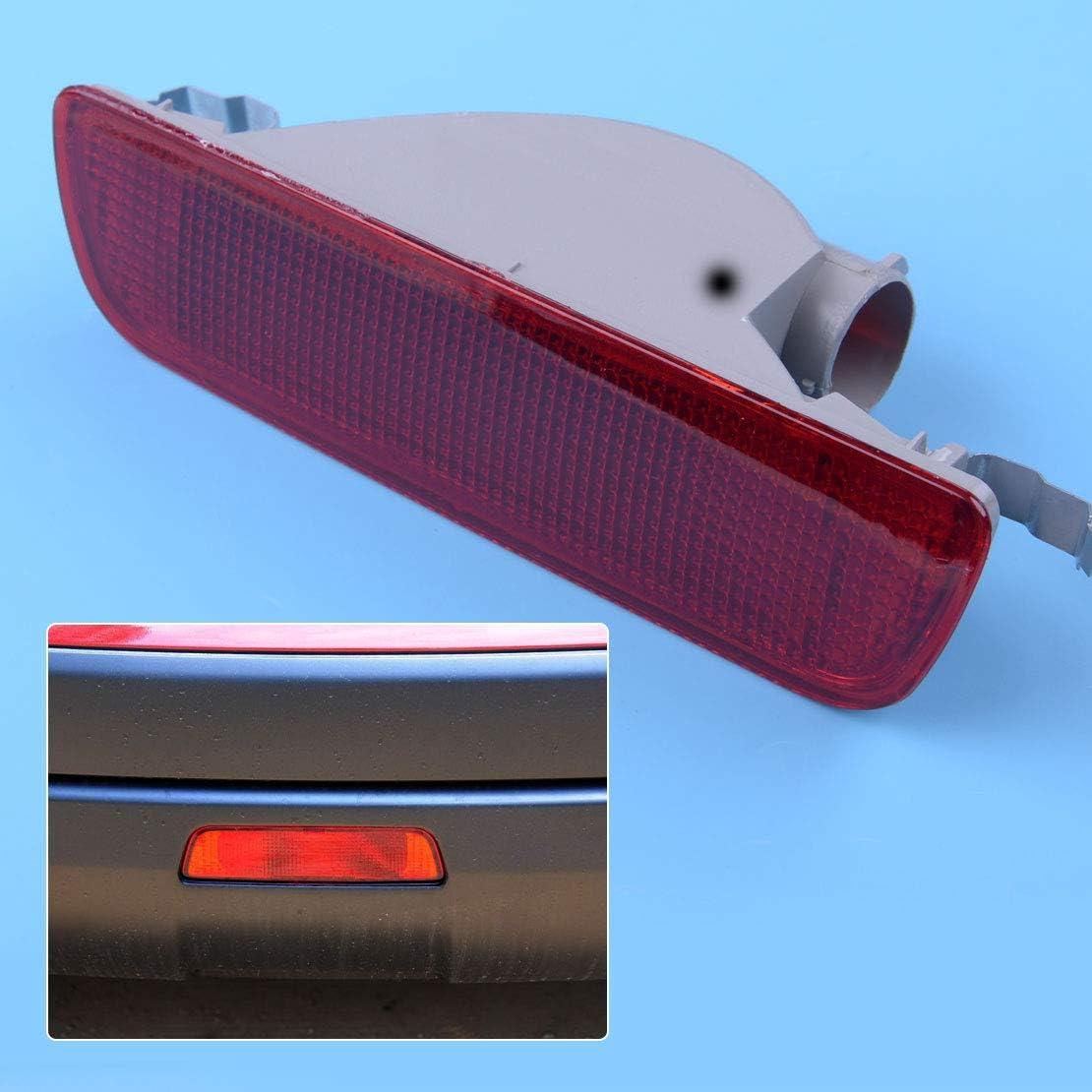 Camisin 1Pcs Car Rear Tail Central Bumper Reflector Fog Light Lamp Rear Reverse Lights for QASHQAI 2007-2013