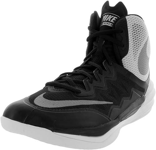 Nike Prime Hype DF II Scarpe da Basket, Uomo, Nero, 43
