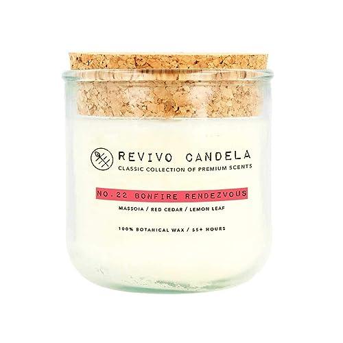 Vegane Kerzen.Duftkerze Aus Sojawachs No 22 Bonfire Rendezvous Vegane