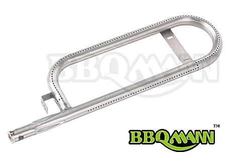 bbqmann 1L351 quemador de tubo de curvo de acero inoxidable ...