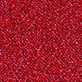 Coredinations 8.5 x 11 Cardstock Glitter Silk Red Flash (12 Pack)