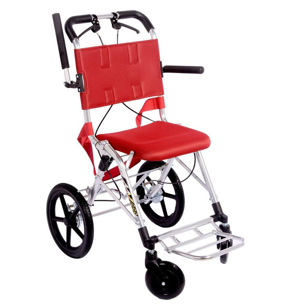 2019年新作 YONGMEI Red+B) 軽量車いすアルミ合金ポータブル折り畳み式旧トラベル車椅子 (色 : B07LDZ38CT Red+B Red+B) Red+B B07LDZ38CT, エイゲンジチョウ:396f93f5 --- a0267596.xsph.ru