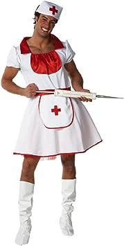 Disfraz de Enfermera para hombre para Adultos: Amazon.es ...