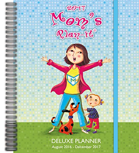 Wells Street by Lang Mom's Deluxe Planner, 17 Month Calendar August 2016-December 2017 (17997061033)