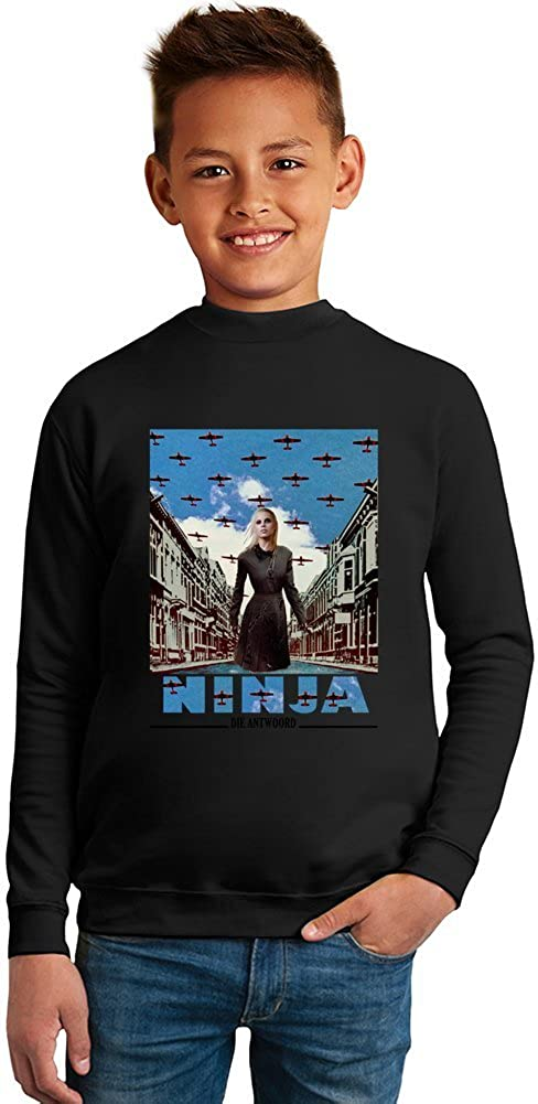 Die Antwoord Enter The Ninja Superb Quality Boys Sweater by ...
