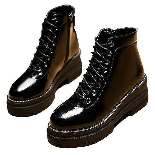 Botines para Mujer Zapatos de Lluvia Martin Cool Zapatos de tacón Alto para Mujer al Aire Libre Western Tacones Altos: Amazon.es: Zapatos y complementos