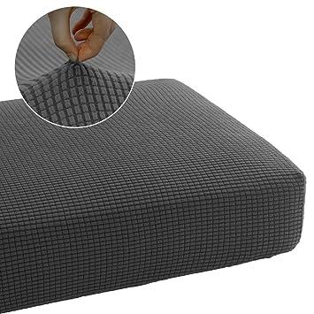 Amazon.com: Fundas de sofá elásticas de poliéster suave ...