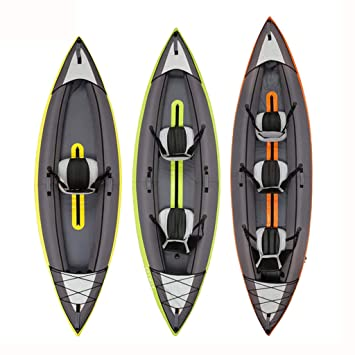 AA-PHUJ DMUC Kayak Yukon Inflable, 1 Hombre Canoa Canadiense ...