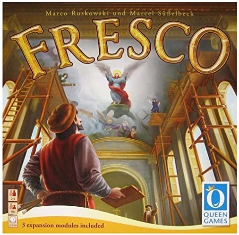 Queen Games Fresco Board Game by: Amazon.es: Juguetes y juegos