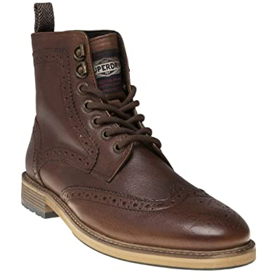 new product a5e33 d0fb2 Superdry Shooter Herren Stiefel Braun: Amazon.de: Schuhe ...