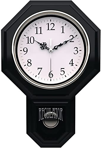 Timekeeper 18.75 Essex Urban Mod Pendulum Wall Clock