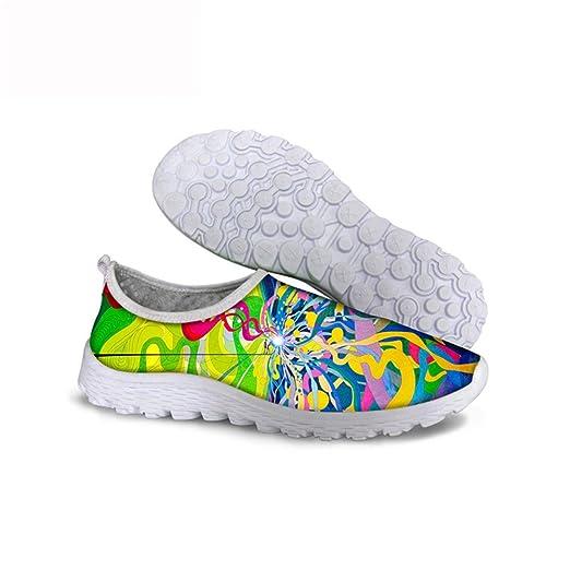 Sneaker Bunter Riband Gopumchy Damen Laufschuhe Sportschuhe kXZPOiu